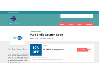 Pure Smile Coupon Code
