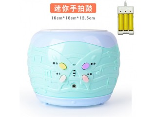 Children's toy hand drum early education music story machine baby infant educational toy tap drum can be connected to mobile phones