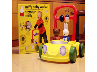 0-3 years old baby stroller Miffy Rabbit Walker Toy