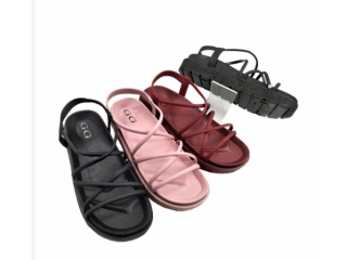 NEW! [ORIGINAL] GG 1986 SANDAL GLADIATOR KOREA TRENDY PREMIUM JELLY /PCU