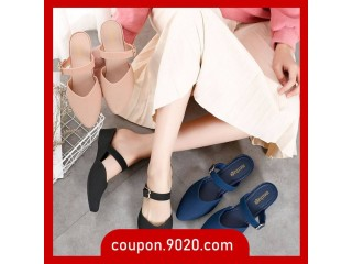 Women's Wedge Pointed Sandals Soft sole non-slip sandals