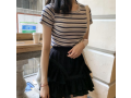 day6-women-t-shirt-striped-printed-fashion-casual-o-neck-short-sleeve-slim-tops-small-0