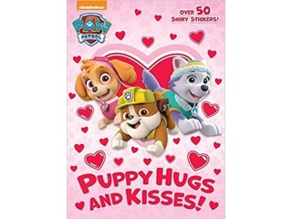 Amazon: Puppy Hugs and Kisses (Paw Patrol) Paperback – Coloring Book for $1.18