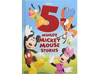 Amazon: 5-Minute Mickey Mouse Stories JUST $5.84 (Reg. $12.99)