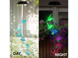 Amazon: Wind Chimes Color-Changing Hummingbird LED for only $7.99 (Reg: $14.99)