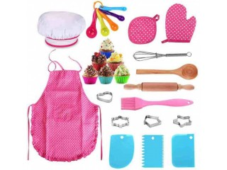 Amazon: 25Pcs Chef Set for Kids for only $15.95 (Reg: $29.99)