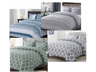 Amazon: Bedding Comforter Sets Queen Size with 2 Pillow Shams for $18.50 (Reg. Price $36.99)