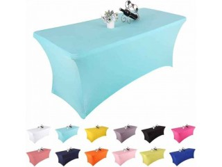 Amazon: Yetomey Rectangular Fitted Spandex Tablecloths $7.19-$10.19