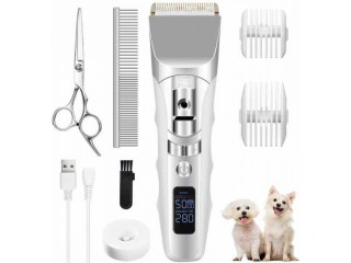 Amazon: 5-Speeds Low Noise Cordless Dog clippers $15.49 (Reg. $31)