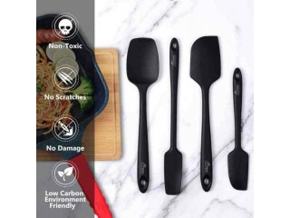 Amazon: 4 pieces Silicone Spatula Set for only $5.99 (Reg: $14.99)