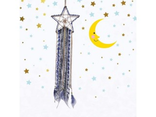 Amazon: Blue Dream Catcher Star Wall Decor with Feather for ONLY $8.29 W/Code (Reg. $16.59)
