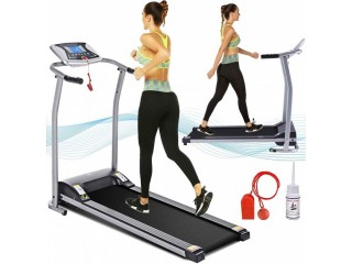 Amazon: Electric Folding Treadmill for Home Just $249.99 (Reg. $416.65)