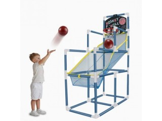 Amazon: Portable Basketball Hoop Indoor with Basketball Net for ONLY $33.47 W/Code (Reg. $66.95)
