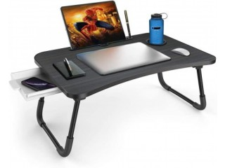 Amazon: Multi-Function Lap Bed Tray Table with Storage Drawer and Water Bottle Holder for ONLY $27.99 W/Code (Reg. $39.99)