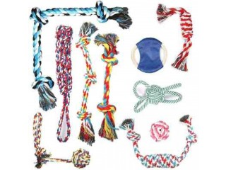 Amazon: 10 Pcs Dog Rope Toys for ONLY $11.70 W/Code (Reg. $25.99)