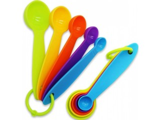 Amazon: 10 pcs Colorful Measuring Spoons ONLY $9.99 (Reg. $19.99)