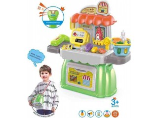 Amazon: Cash Register Pretend Play Supermarket Shop Toys with Calculator for only $13.79 (Reg: $22.99)
